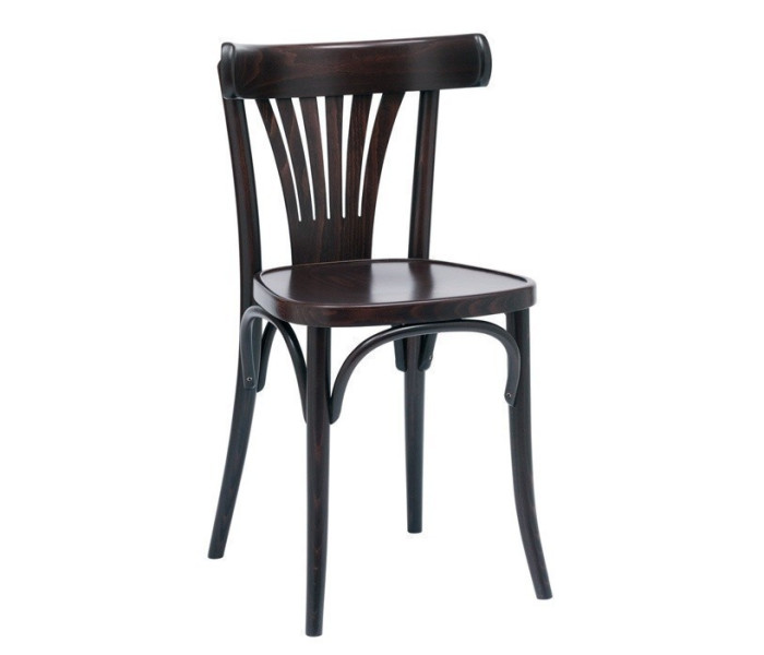 Number 56 Polished Fanback Bentwood Chair