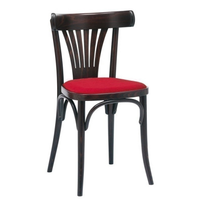 Number 56 Upholstered Fanback Bentwood Chair