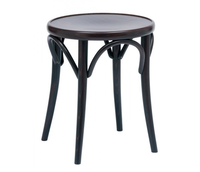 Number 60 Polished Bistro Bentwood Low Stool