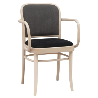 Number 811 Upholstered Bentwood Armchair